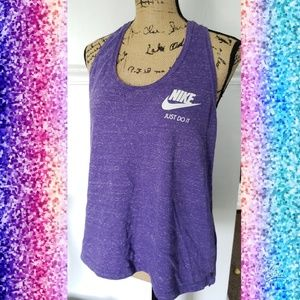 Nike racerback large work out exercise